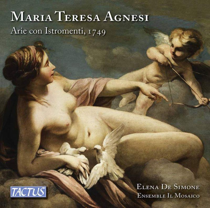 Cd Arie di Maria Teresa Agnesi