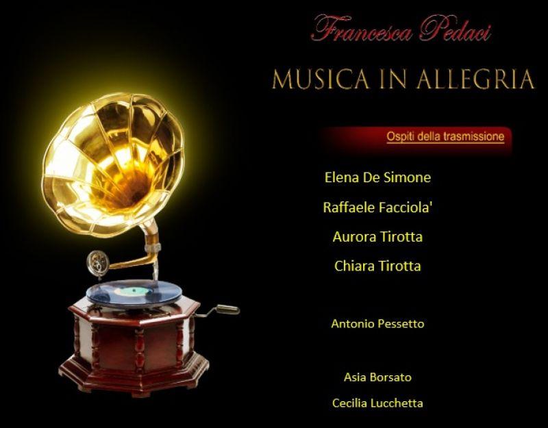 Musica in Allegria