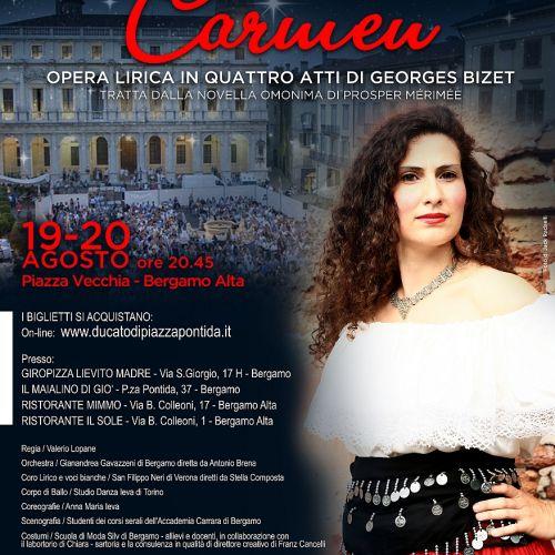 Elena De Simone - mezzosoprano - Canto Lirico - Carmen
